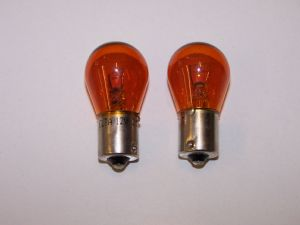 Indicator bulbs Amber 382A 12 volt 21w sold as a pair
